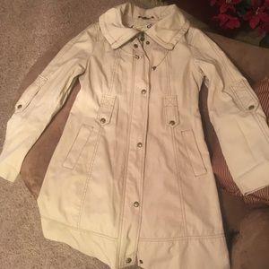 Guess Tan Trench Coat